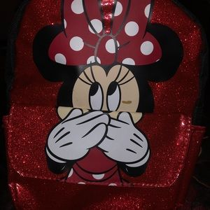 Disney Accessories - Mini mouse children's backpack